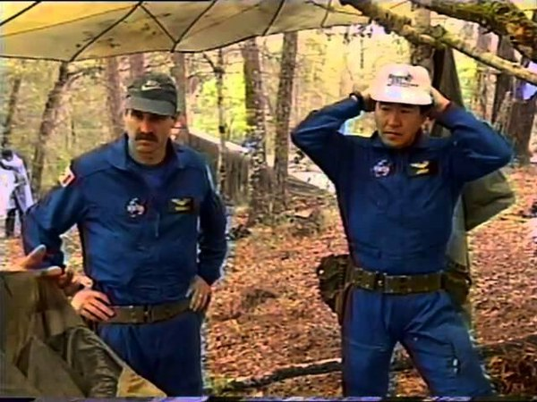 U.S. Government - NASA - Astronaut Candidate Training - Land Survival Training - 1995