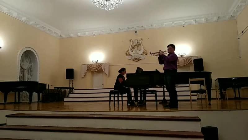 Ульянов Никита - Концерт ми-бемоль мажор Т.Альбинони 1 и 4 части