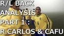 Right/Left Back Analysis Part1 R.CarlosCafu