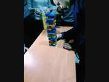 Funny G4 group - Playing the game JENGA