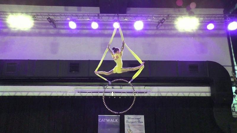 Кира Раннефт - Catwalk Dance Fest IX[pole dance, aerial] 30.04.18.