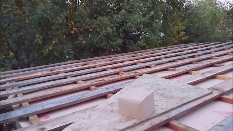Часть 2. Каркас крыши. Быстрое и недорогое каркасное строительство.
