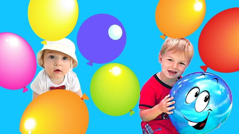 Learn Colors with Kirill and Tisha Video for Kids Children Toddler