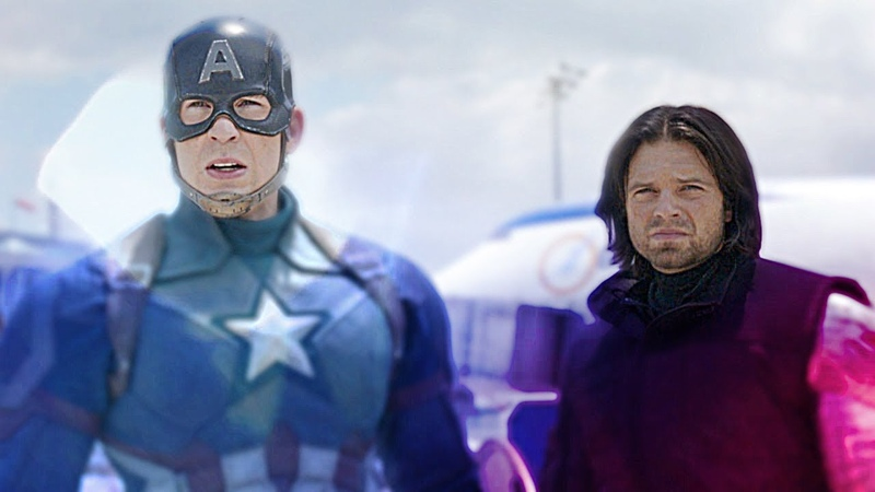 Bucky vs Steve - hot stuff
