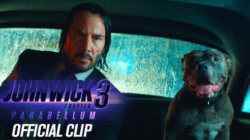 "John Wick Chapter 3 - Parabellum (2019 Movie) Official Clip ""Taxi"" – Keanu Reeves, Halle Berry"