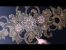 DIY Henna mehendi Art by Valerie point step by step 2
