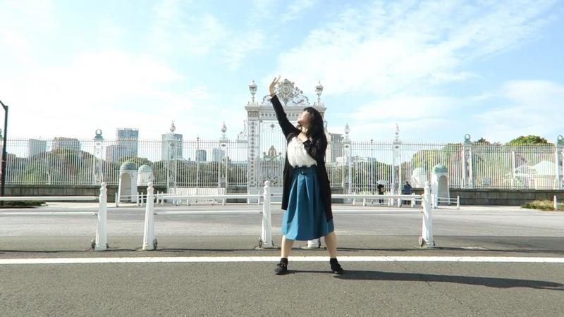 【旅先で】ハイドアンド・シーク 踊ってみた【くらんべりぃ。】 sm33032864