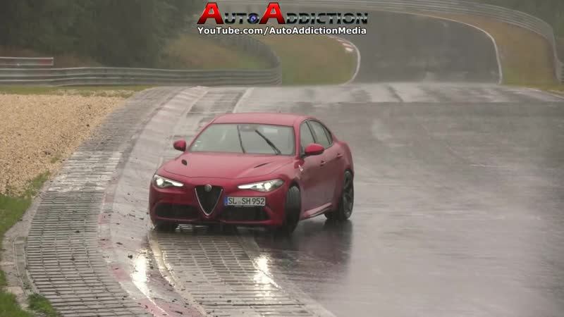 Nordschleife in Extreme Wet Conditions - Highlights, Slides Spins - 23 09 2018 TF Nürburgring