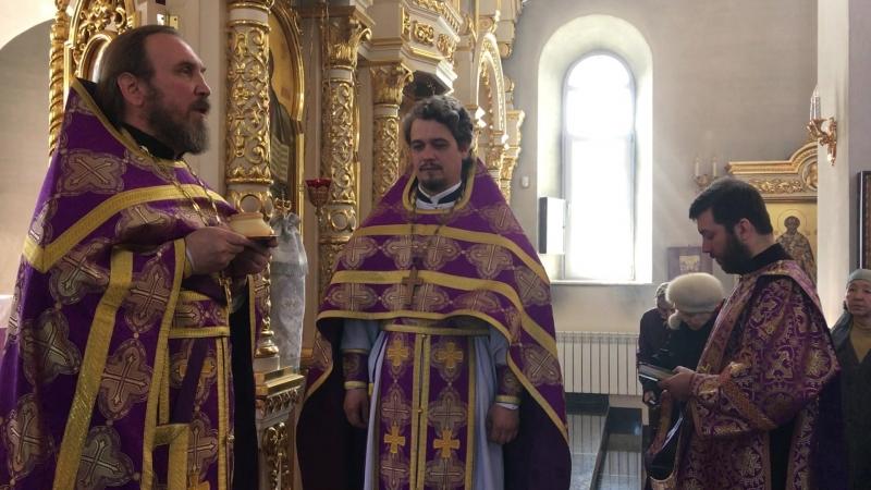 Поздравление с именинами настоятеля храма Рождества Христова иерея Александра Лоскутова