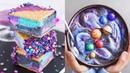 AWESOME GALAXY CAKES MILKSHAKE - BEST Chocolate Cake Ideas for Holiday