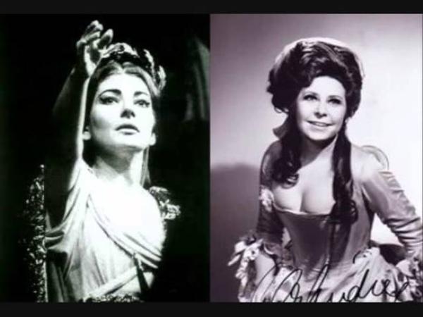 Maria Callas Christa Ludwig - Mira, o Norma - NORMA 1961