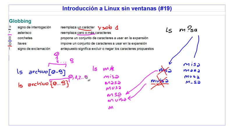 A Linux sin ventanas Lección 19