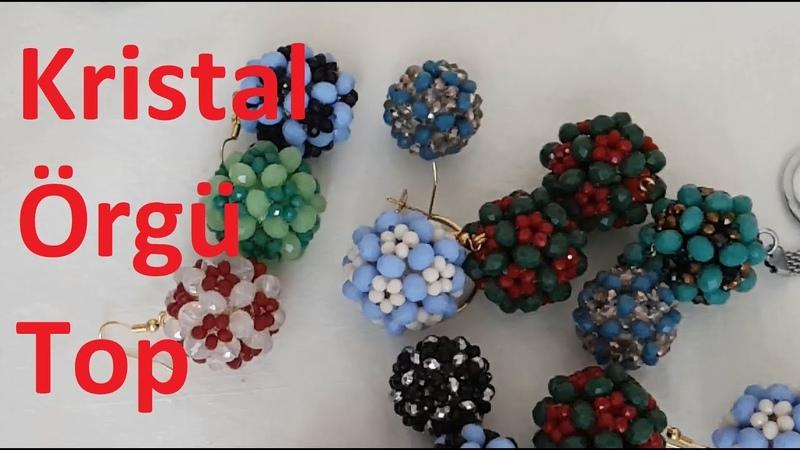 Kristal örgü top nasıl yapılır?DIY
