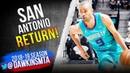 Tony Parker San Antonio RETURN January 14 2019 8 Pts 4 Asts FreeDawkins