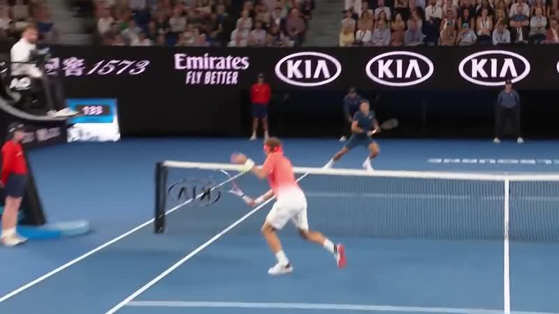 CPA Shot of the Day- Roger Federer - Australian Open 2019