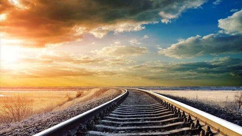 Встречаем рассвет в вагоне под стук колес поезда. Чистый звук поезда слушать онлайн
