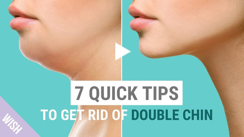 The 7 Most Effective Solutions to Get Rid of A Double Chin | What's TRENDing
