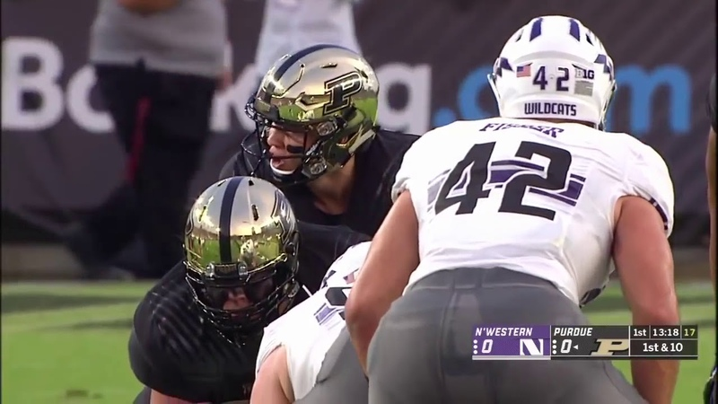 August 30 2018 Northwestern vs Purdue