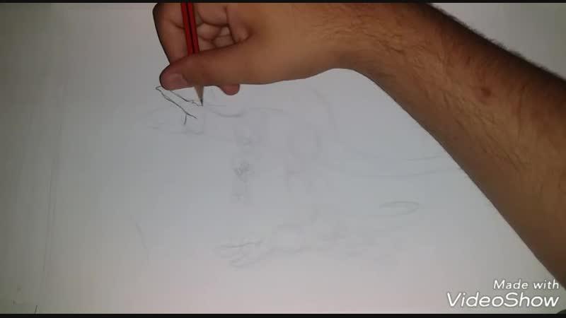 Drawing Spinosaurus from Jurassic Park 3 ( 470 X 854 )