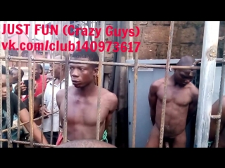 Thiefs caught in umuahia nigeria savage africa embarrassing член хуй голый naked nude cock penis public