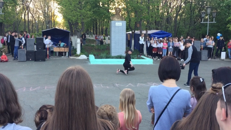 1 Мая Вета Закотнова Форсаж открытие парка