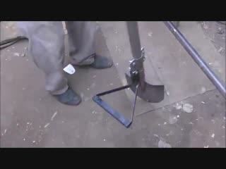 Модернизация лопаты, чтоб спина не болела-Дачники