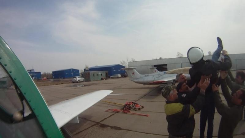 Первый самостоятельный вылет на Л-29, 27.04.2013