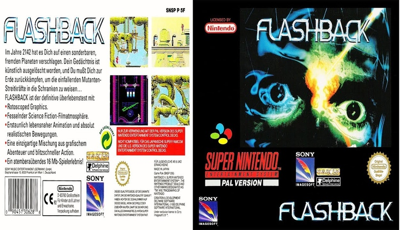 SNES: Flashback: The Quest for Identity (rus) longplay [112]