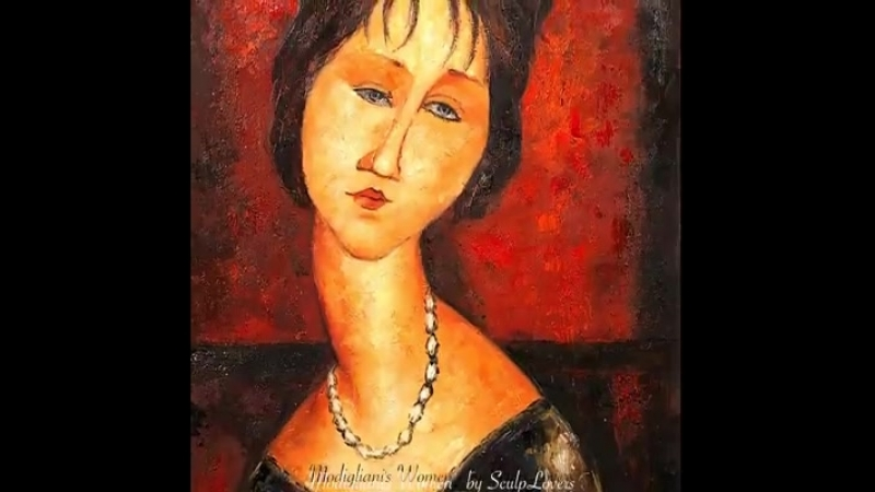 Modiglianis Women Paintings by Amedeo Modigliani.1884-1920.Italy facebook.comArtsEmotions MusicChopin (1)