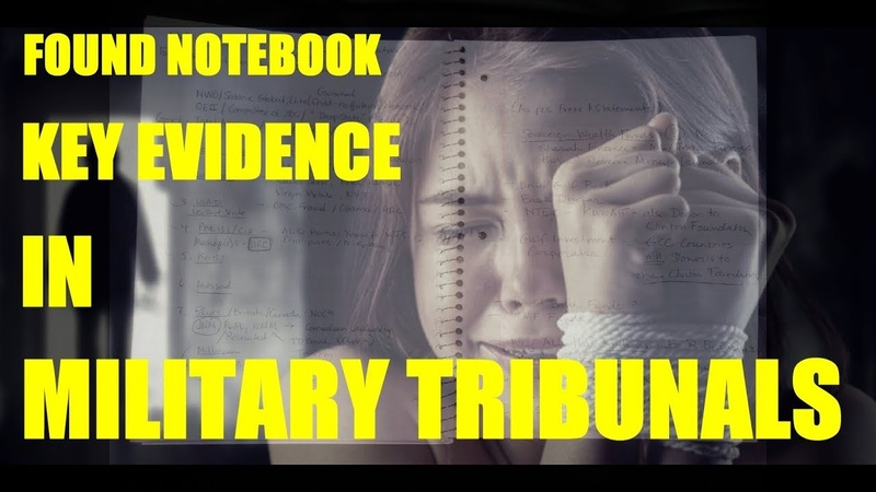 (Miss I might talk too much, Justice is Higher than Politics, and the base of Society, See min 9:20 ) Found Notebook Key Evidence In Military Tribunals