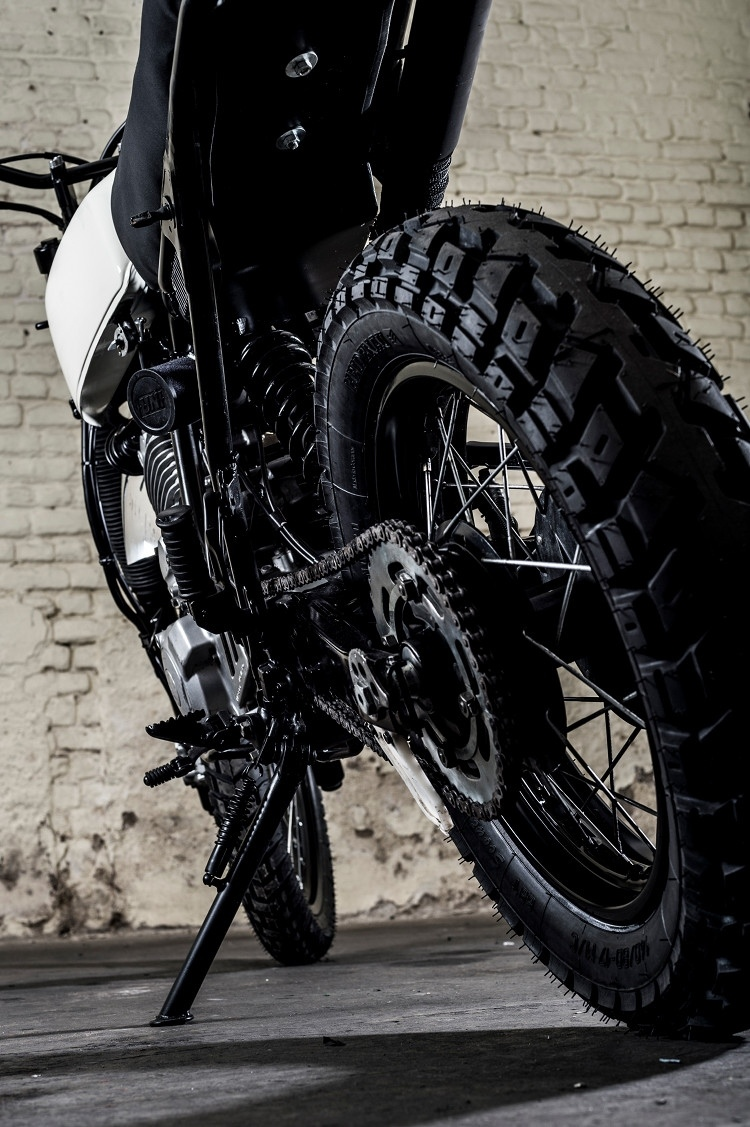 TOMA Customs: кастом Yamaha XT600 Scrambler