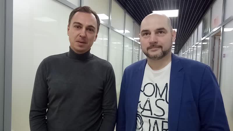 Спичаков и Кувшинов в коворкинге33