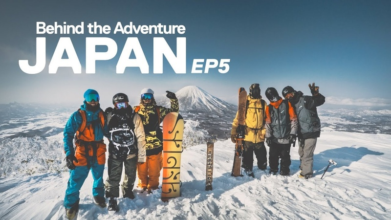 Perfect Volcano Powder Run - Japan Snow BTS Ep5