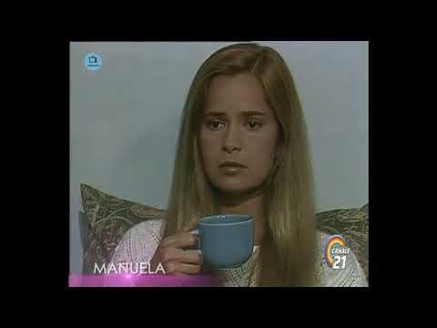 🎭 Сериал Мануэла 212 серия, 1991 год, Гресия Кольминарес, Хорхе Мартинес.