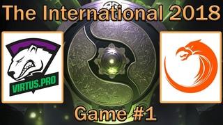 Virtus Pro vs TNC | Map #1 bo2 [RU] | The International 8