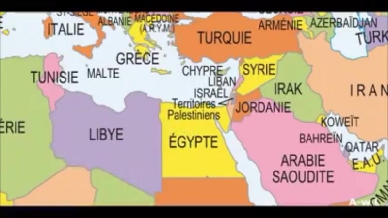 Pour le Robert, la Palestine n'existe pas