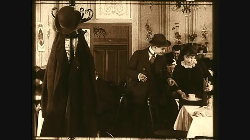 ФАНТОМАС 5 (1914) - детектив, экранизация. Луи Фейад