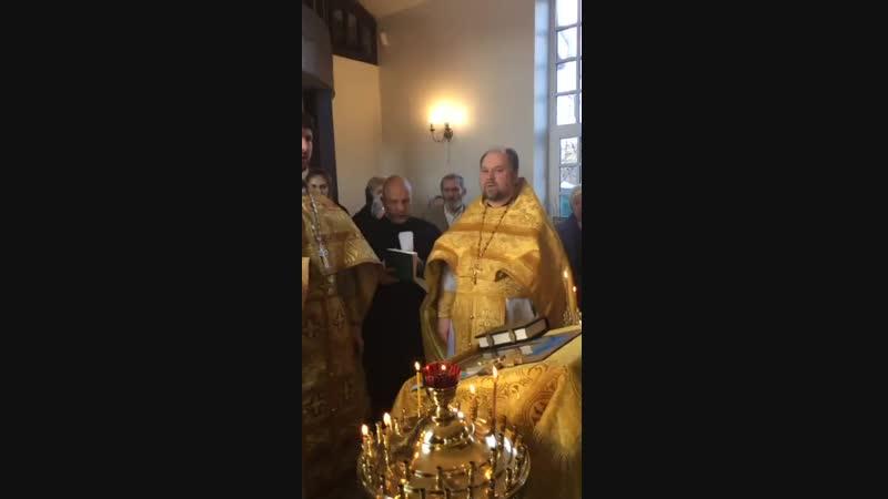 Трехлетие прихода Храма Святых Жен мироносиц