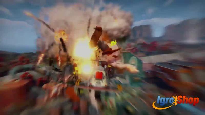 SUNSET OVERDRIVE PC Windows 10 Gameplay Trailer (2018)