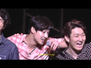 "2018.10.12 kim hyun joong japan tour ""一緒にtake my hand""_last song & talk."