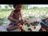 Primitive Technology - Cooking on the Rock - Survival Technique - Brave Wilderness