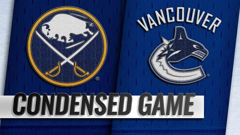 01 18 19 Condensed Game Sabres @ Canucks