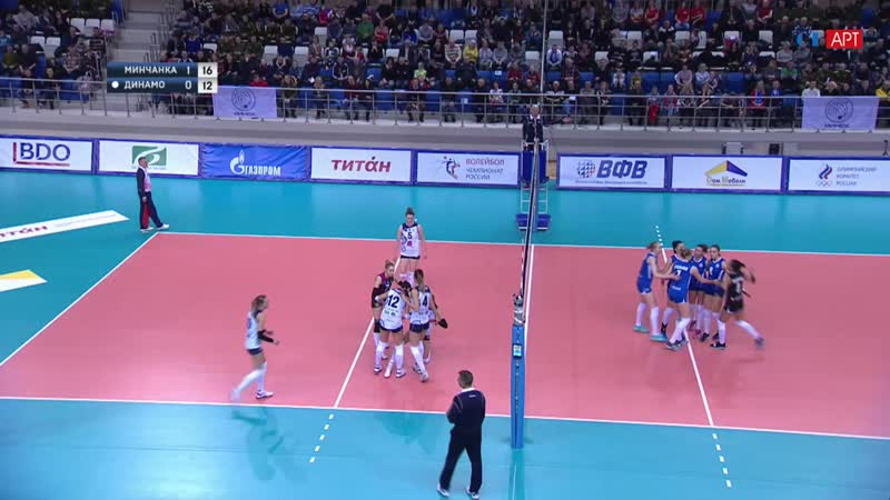 Волейбол Женщины Суперлига Минчанка - Динамо_Метар 29_12_2018