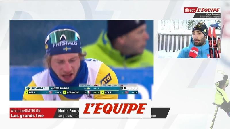 Biathlon - CM (H) : M.Fourcade «C'est une déception»