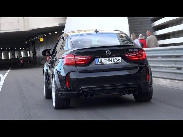 640HP Hamann BMW X6M - Exhaust Sound, Start Up Accelerations!