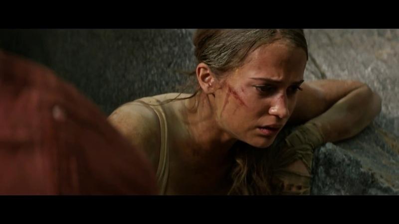 Tomb Raider: Лара Крофт.Обрушение гробницы и спасение Лары.Дорога домой