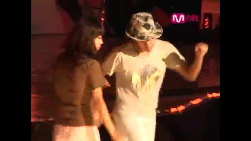 2008 Mnet 20s choice - Jang Geun Suk dance rehearsal