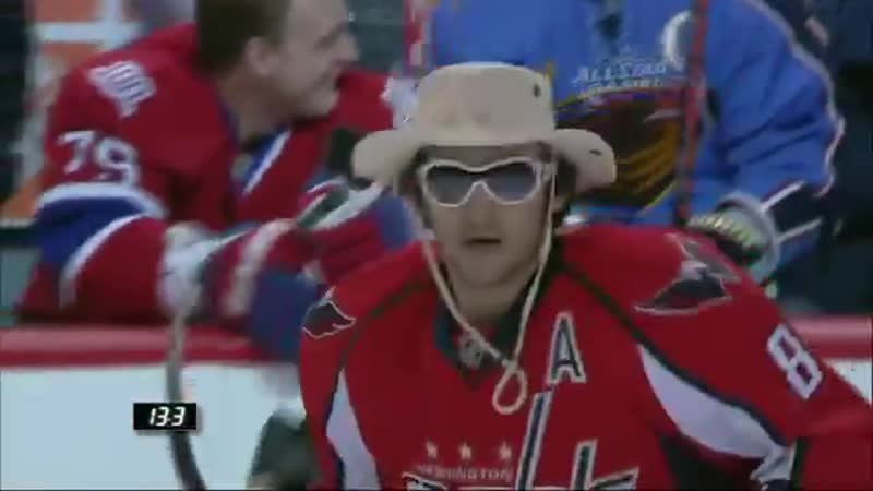 Ovechkin Shootout 2009 NHL All Star Skills Competition WATCH IN HD mp4