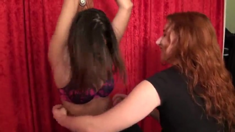 Ticklish teacher assistant