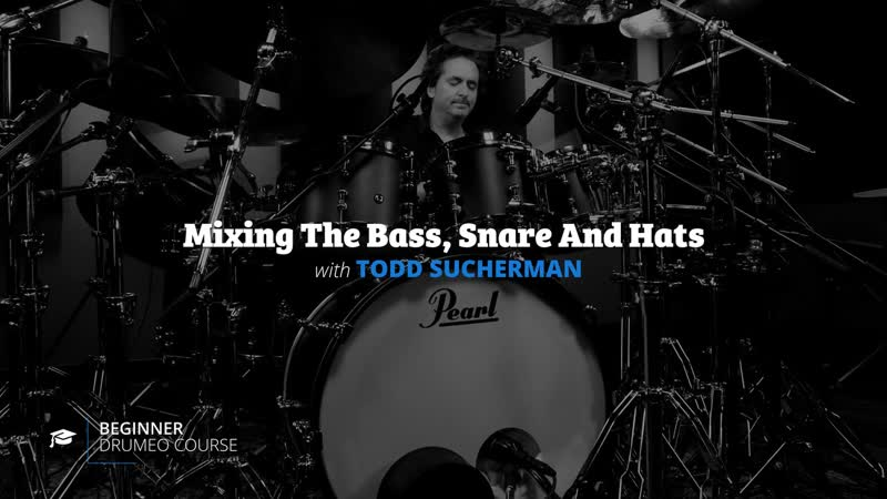 3 Mixing The Bass Snare And Hats